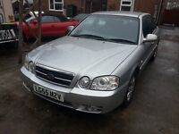 KIA MAGENTIS 2006 55 PLATE AUTO M.O.T SEP TOW BAR DRIVES VERY WELL TIMIMG BELT JUST DONE £395.00ONO