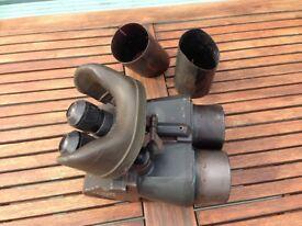 very old observation binoculars