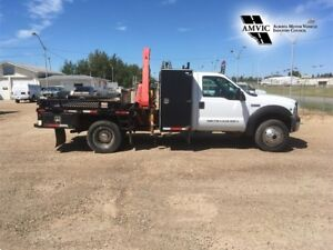 2007 Ford Super Duty F-550 CVIP AND CRANE INSPECTION