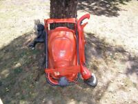Flymo 280 Mower and Mini Trim Strimmer.