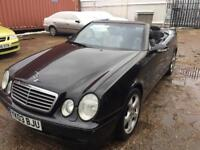 Mercedes Benz clk 230 kompresor low mil 88k 1 year mot