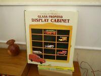 models display cabinet