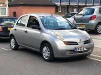 BARGAIN!! NISSAN MICRA AUTOMATIC HATCHBACK 2003 1.2 S 5 DOOR HPI CLEAR