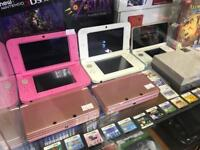Nintendo 3ds pink console good condition