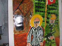 """St Maximilian Kolbe in Auschwitz"""