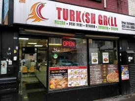 Grill-kebab-Pizza Takeaway/Restaurant for Sale
