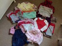 Girls clothing bundle 12-18 Months