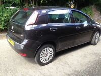 Fiat Punto Evo 1.4 2010 Black Low Warranted Mileage Full 12 Months MOT Part exchange Welcome