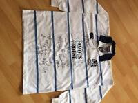 Genuine Scotland rugby shirt signed by the team