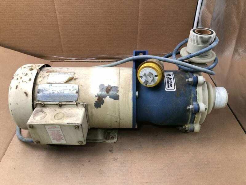 Sethco 344-A33E 3HP PP Magnetic Drive Pump 230/220V 460/380V 3PH 96GPM