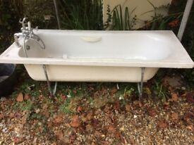 White Twyfords bath - FREE