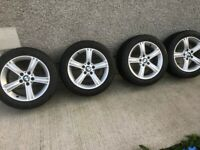 BMW Genuine Alloy Wheels 17'' with Good Year Run Flat Tyres