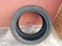 265 35 18 mayrun used tyre About 6mm tred