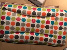 Twin bundle lot - IKEA high chair cushions, swim floats, changing mats.
