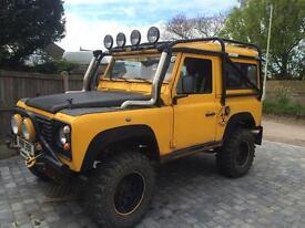 Land Rover defender / range rover