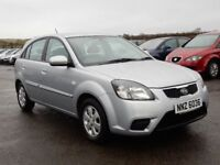 2009 kia rio strike 1.24 petrol with only 52000 miles, motd nov 18 all cards welcome