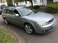 Ford Mondeo Zetec,New Clutch Pads Discs Tyres,14 Stamp Svc History,Apr 2018 Mot