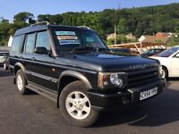 2004 54 Land Rover Discovery 2 2.5 TD5 Pursuit 5dr (5 Seats) Turbo Diesel 5 Speed Manual