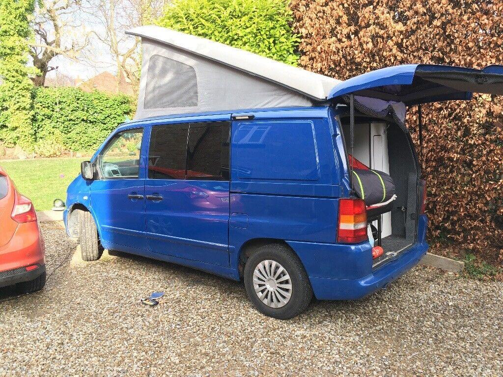 10c07270f8 Campervan Conversion - Mercedes Vito Camper with poptop (elevating roof)    DVLA registered motorhome