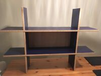 Shelving.Excellent condition in smoke free home.66cm tall by 94cm wide