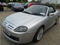 mg tf 1.6 sunstorm silver only 30000 miles one owner full years mot