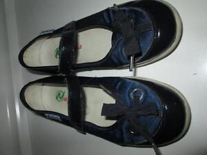 NATURINO Nautical Mary Janes, navy & royal size 1.5
