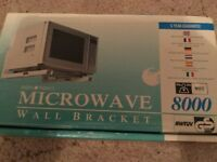 Microwave wall bracket (brand new in box)