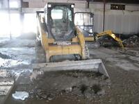 Bobcat,Backhoe Loader,Concrete Demolition & Landscaping Services