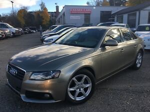 2009 Audi A4 Leather | AWD | Alloys | Moonroof