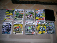 classic bike guide magazines over 100 copies all consecutive numbers + some folders.