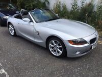 Long MOT - BMW Z4 2.2I SE Roadster, Convertible, Petrol, Manual, Silver, Big Alloys, Only 65k miles