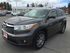 2015 Toyota Highlander XLE-LEATHER/SUNROOF+XTRA WARRANTY-2020!