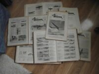 The Aeroplane Spotter WW2 Magazine Jan 1941 to July 1945 Indexes and some odd copies 150 approx