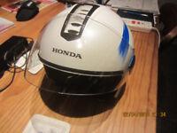 Motorbike crash helmet - VGC