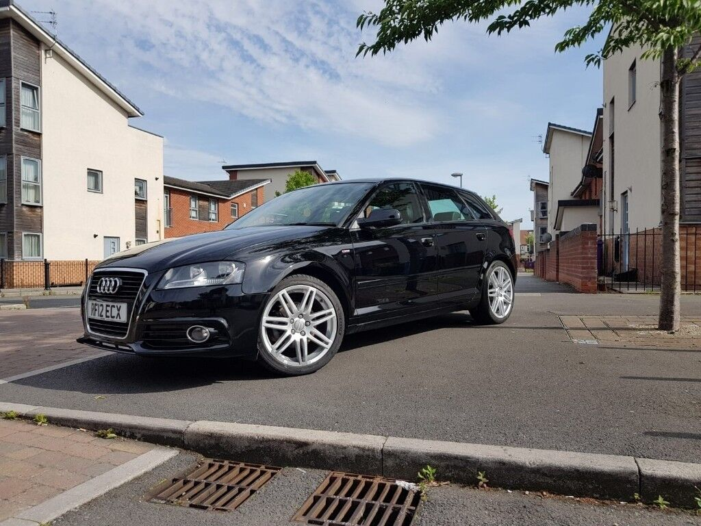 Audi A3 Sportback S Line 2012 8p Facelift Model Cat C Repaired