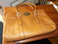 MULBERRY . TAN LEATHER BAG