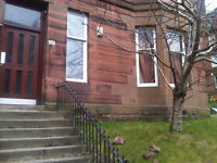 Large Fully Furnished, One bedroom, Ground floor Flat, Clarence Drive, Hyndland, West End