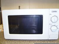 low wattage microwave for home, caravan or m/home.