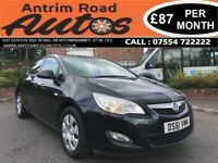31 DECEMBER 2011 VAUXHALL ASTRA 1.4 EXCLUSIV ** FULL SERVICE HISTORY ** LOW RATE FINANCE AVAILABLE