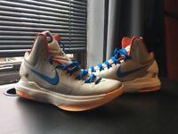 Basketball shoes Quality Nike Orange Zoom KD V 5 - size 6.5 UK