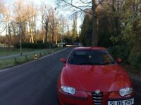 Beautiful Alfa 147 2.0 lusso T spark full service history