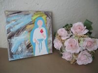 Free Christian Painting for kids bedroom and Catholic Bible