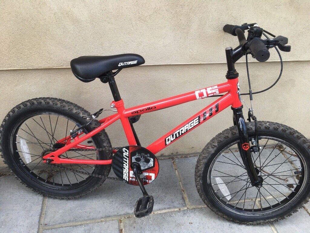 07a9ae1b3cc1 Apollo Outrage kids bike 18 inch for sale excellent condition | in ...
