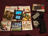 New Nintendo 3DS + Accessories and Games