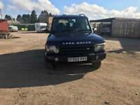 Landrover Discovery Tx5 automatic 2003 xs model