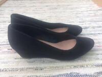 Black Dune Shoes Size 4
