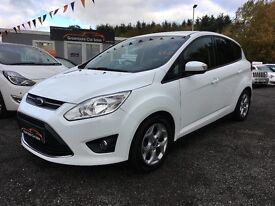 2013 Ford C-Max, 10 Ecoboost, Zetec, 12 Months warranty Finance available