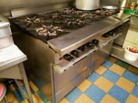 Garland (Starfire Sentry) Commercial Cooker