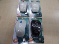 Wireless Mouse 2.4GHz with Battery 4 clours