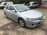 Honda Accord 2.2 CTDI 2007. MOT Sat Nav Leather